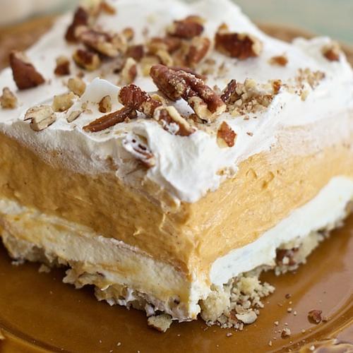 Pumpkin Pie Dessert Lasagna: Thanksgiving Desserts: 37 Share-worthy Desserts To Celebrate