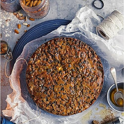 Marsala Soaked Fruit Cake