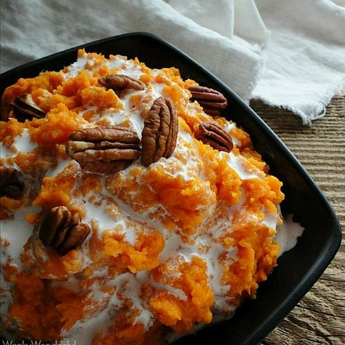 Mashed Sweet Potato Casserole
