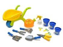 Mini Wheelbarrow & Gardening Tools Playset for Kids