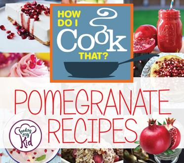 Need new pomegranate recipes? Check out our collection of sweet and savory pomegranate recipes below! We've curated recipes from around the web from pomegranate pancakes, pomegranate smoothies, pomegranate desserts, and everything in between.