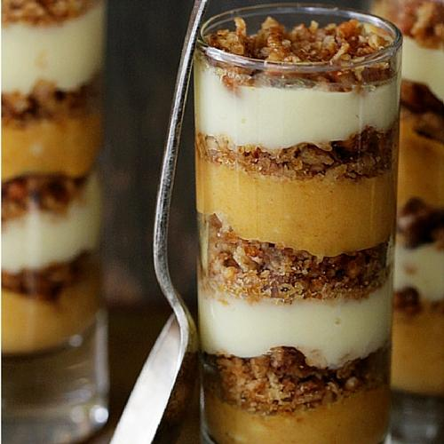 Pumpkin Praline Trifle