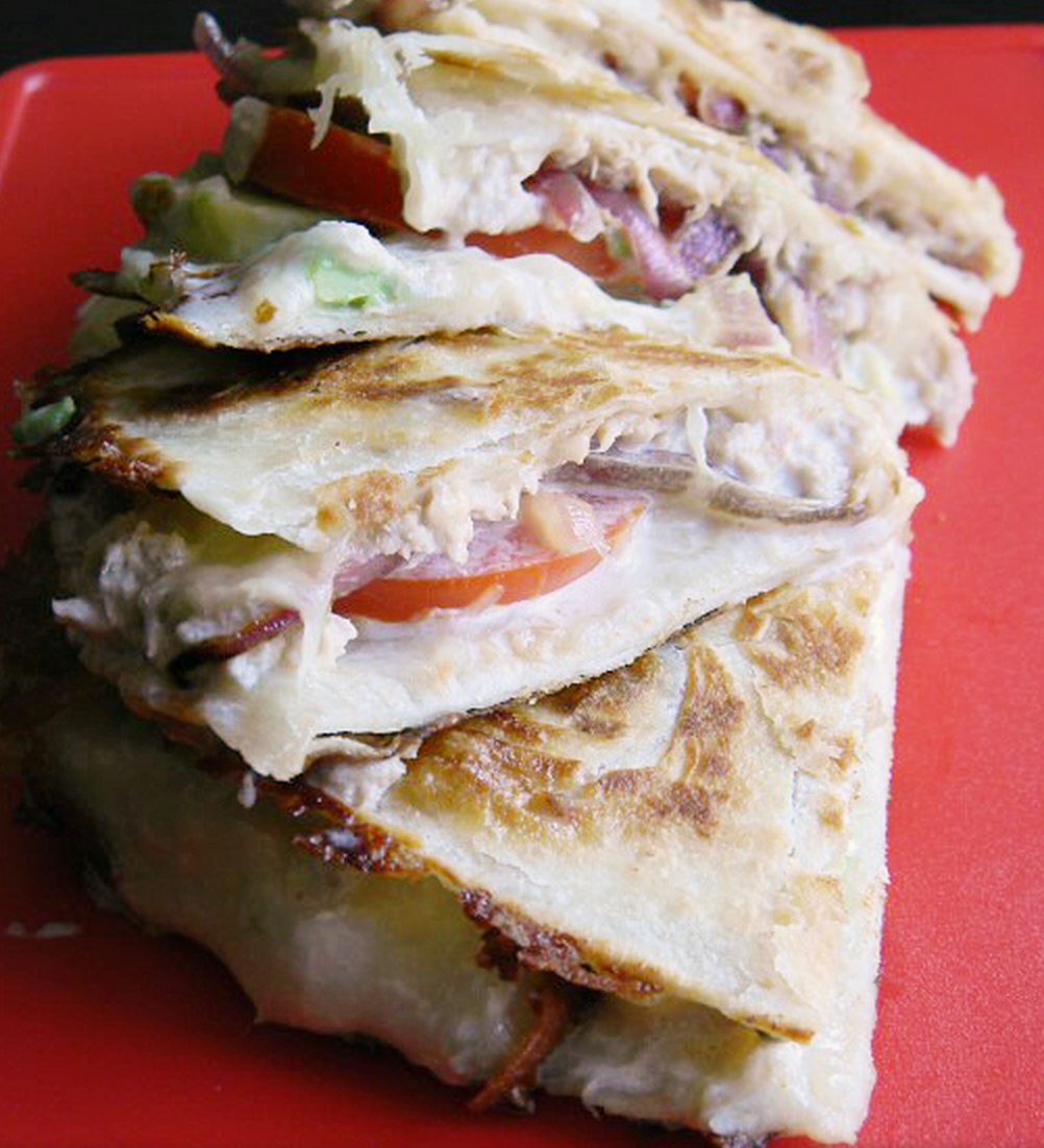 Avocado Tuna Melt Quesadilla