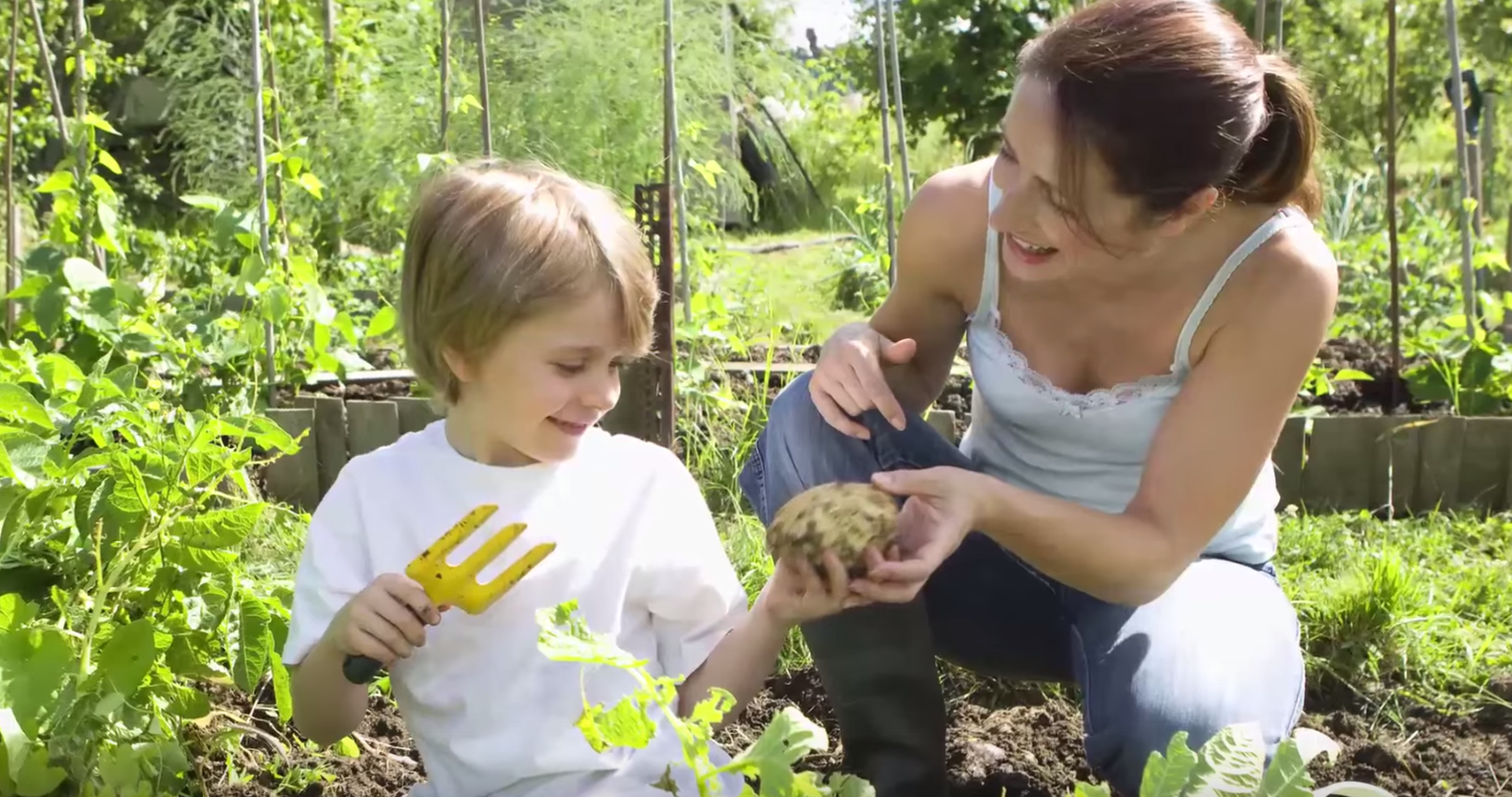 Find Out Why You Should Be Growing a Garden with Your Kids. Watch the Video. We filmed my twins in the garden having a great time, while I talk about the benefits. It's a fun watch!