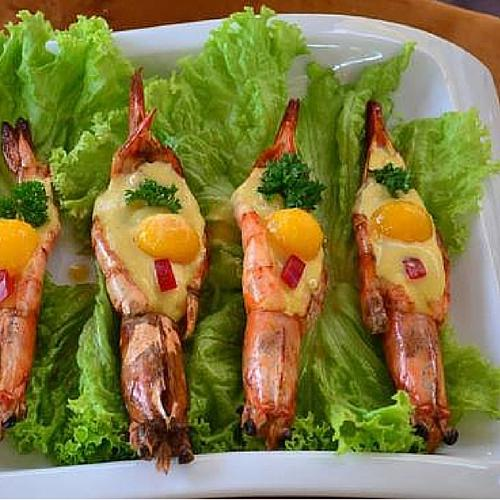 Shrimp Mango Sauce
