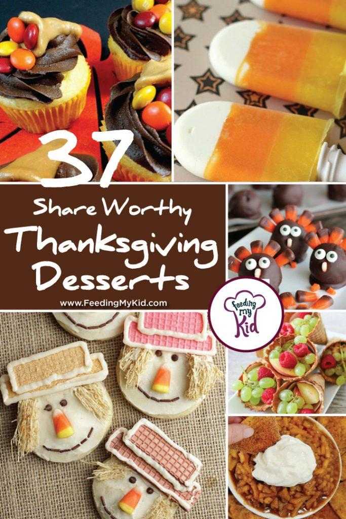 37 Share Worthy Thanksgiving Desserts. We've done the hard part of you. We curated amazing Thanksgiving desserts recipes. Just pick the one you want to make and it's sure to be a show stopper at Thanksgiving. Wow and delight your family with these festive treats. We have everything from cookies, cakes, desserts, popsicles, you name it all to celebrate Thanksgiving.
