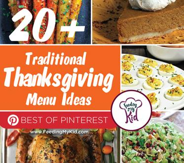 20+ Traditional Thanksgiving Menu Ideas: Best of Pinterest. These recipes are full of flavor and variety! Let us do your meal planning for you for Thanksgiving! Now you can spend your time making these delicious foods versus looking for recipes. We have every kind of vegetable side you can image, deviled eggs, turkey and of course Thanksgiving Desserts. Cooking a Traditional Thanksgiving Menu Doesn't Have to be Boring!