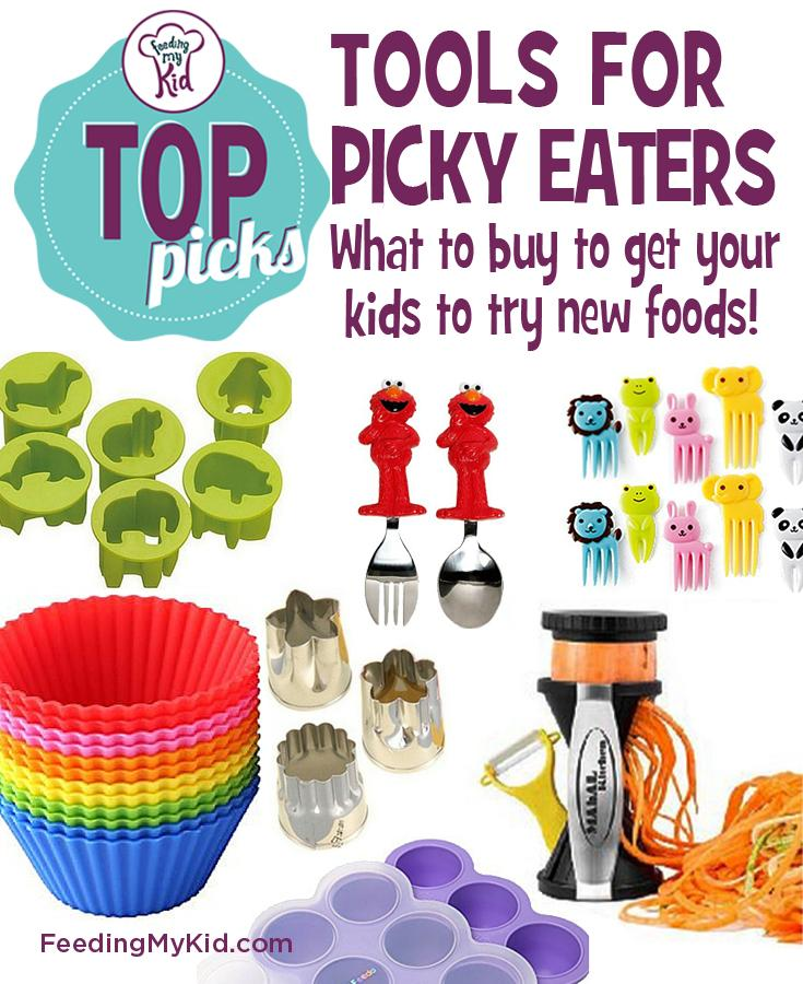 Tools for Picky Eaters. What to Buy to Get Your Kids to Try New Foods!