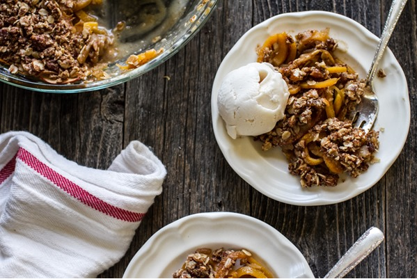 Butternut Squash, Apple and Pear Crisp