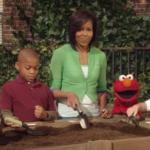 michelle-obama-plants-a-garden