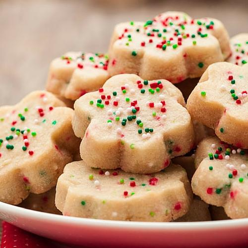 Buttery Shortbread Cookies