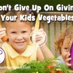 Don't give up veggies video pg