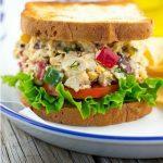 Greek Chickpea Salad Sandwiches
