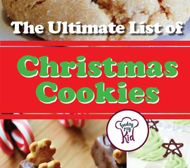 The Ultimate List of Christmas Cookies - We have put together a list of over 50 amazing Christmas cookies. From Chocolate Candy Cane Kiss Cookies to Christmas Tree Meringue cookies, we have tons of cookies you can pick from that'll make your holiday season all the more brighter!