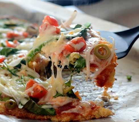 Homemade Pizza Recipes Quinoa Crust Pizza Recipe