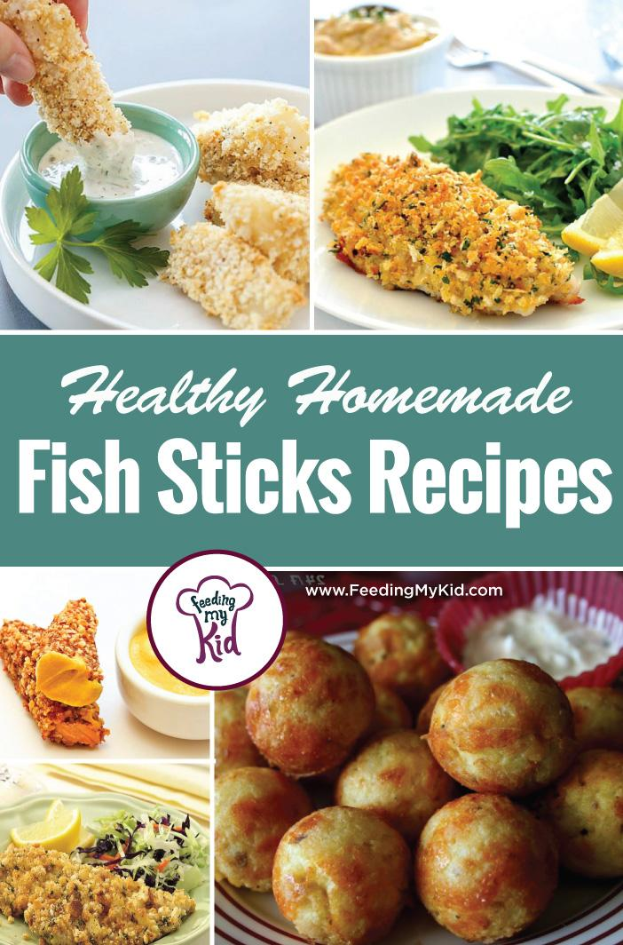 This is a must pin! Try these great homemade fish stick recipes! They're perfect for any meal and anytime! Feeding My Kid is a website for parents, filled with all the information you need about how to raise your kids, from healthy tips to nutritious recipes. #themenight #fishsticks #fish #recipes