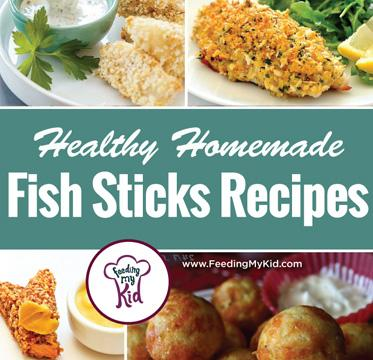 Try these great homemade fish stick recipes! They're perfect for any meal and anytime! Feeding My Kid is a website for parents, filled with all the information you need about how to raise your kids, from healthy tips to nutritious recipes. #themenight #fishsticks #fish #recipes
