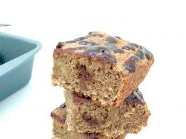 Banana Bread Squares Recipe