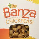 Banza Gluten Free Pasta Shells Chickpea 8 Oz 3 Pack