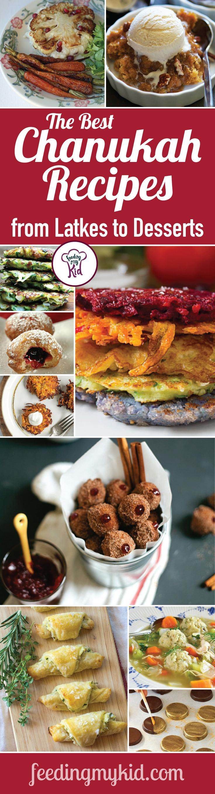 The Best Chanukah Recipes from Latkes to Desserts