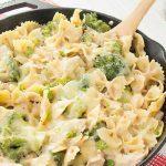 Chicken, Broccoli, And Pasta Skillet Casserole