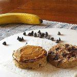 Chocolate Chip Banana Bread English Muffin