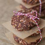 Chocolate Peanut Butter Protein No Bake Cookies