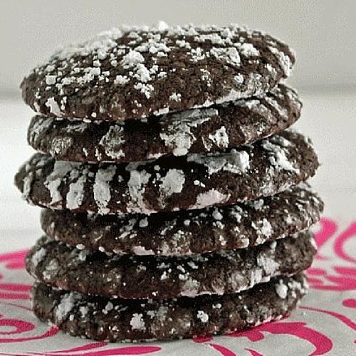 Dark Chocolate Tiger Cookies