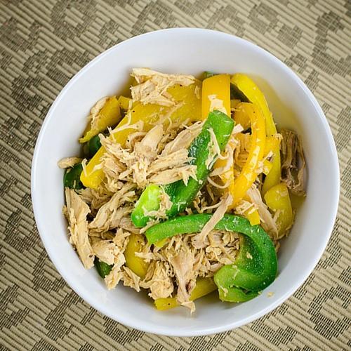 Easy Paleo Chicken Pepper Stir fry