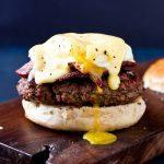Eggs Benedict Burger