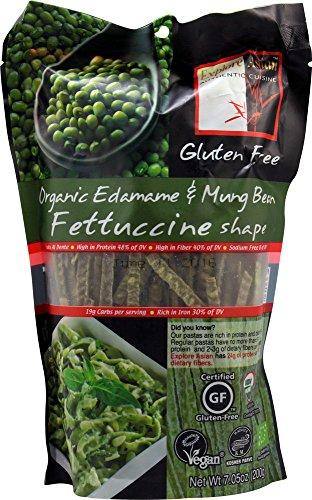Explore Asian Fettuccini, Organic Edamame And Mung Bean