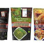 Explore Asian Organic Gluten Free Pasta 3 Flavor Variety Bundle