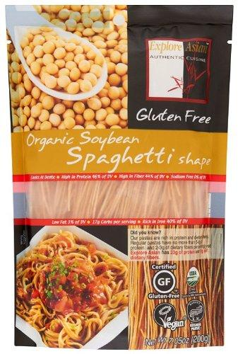 Explore Asian Organic Soybean Pasta, Spaghetti Shape