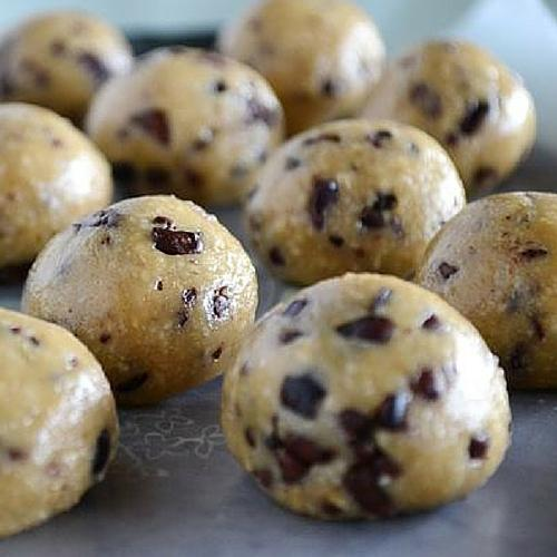 Healthy No Bake Cookie Dough Bites