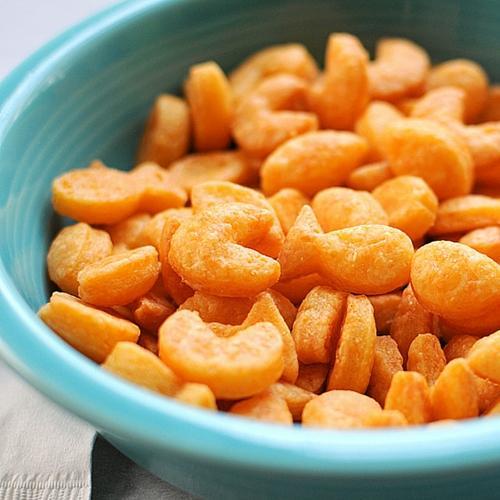 Homemade Goldfish Crackers