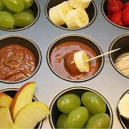 Kids Fruit And Dip