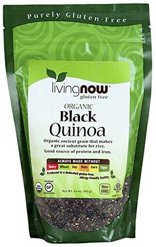 Living Now Organic Black Quinoa