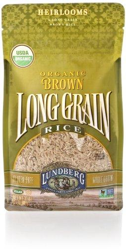 Lundberg Organic Long Grain Brown Rice, 32 Oz