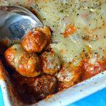 Meatball Parmesan Casserole