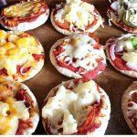 Mini Pita Pizzas