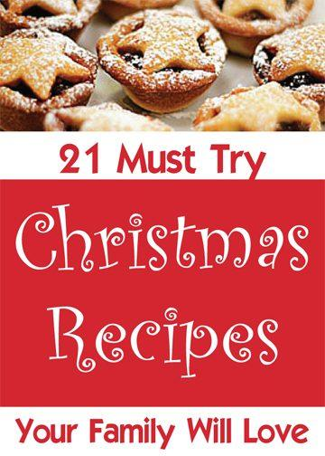 Still looking for those perfect Christmas recipes for the family this holiday season? We've got you covered with 21 must try recipes!