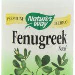Nature's Way Fenugreek Seed 610 mg, Capsules 180ea
