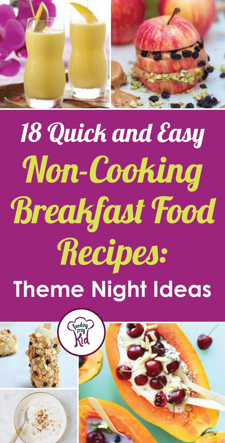 These breakfast food recipes are perfect for any theme meal. Feeding My Kid is a great website for parents, filled with all the information you need about how to raise your kids, from healthy tips to nutritious recipes. #thememeal #breakfast