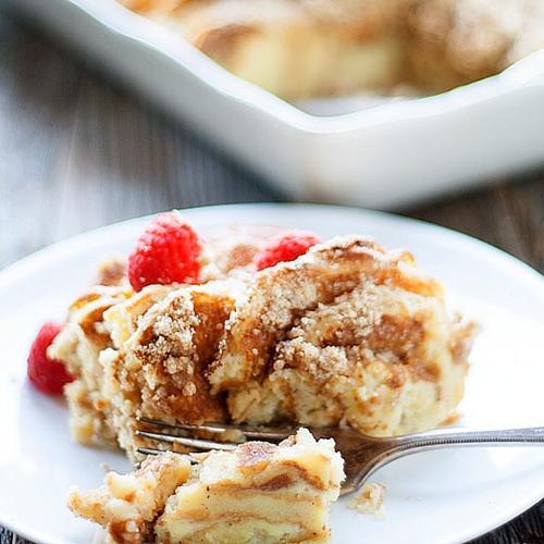 Overnight Pancake Casserole