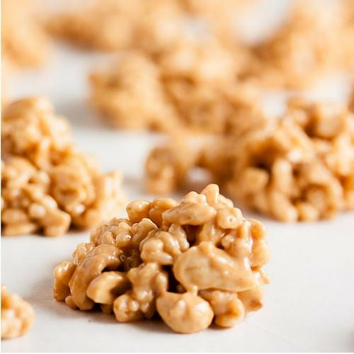 Peanut Butter Butterscotch No Bake Cookies