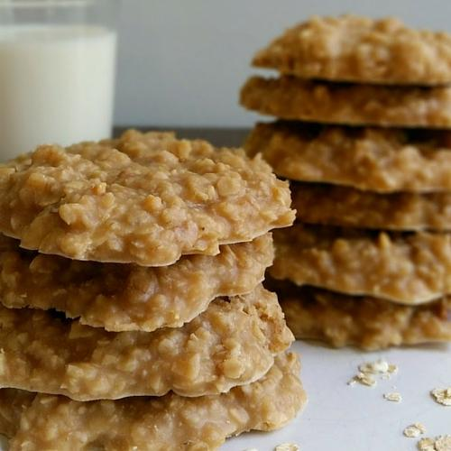 Peanut Butter No Bake Cookies Recipe