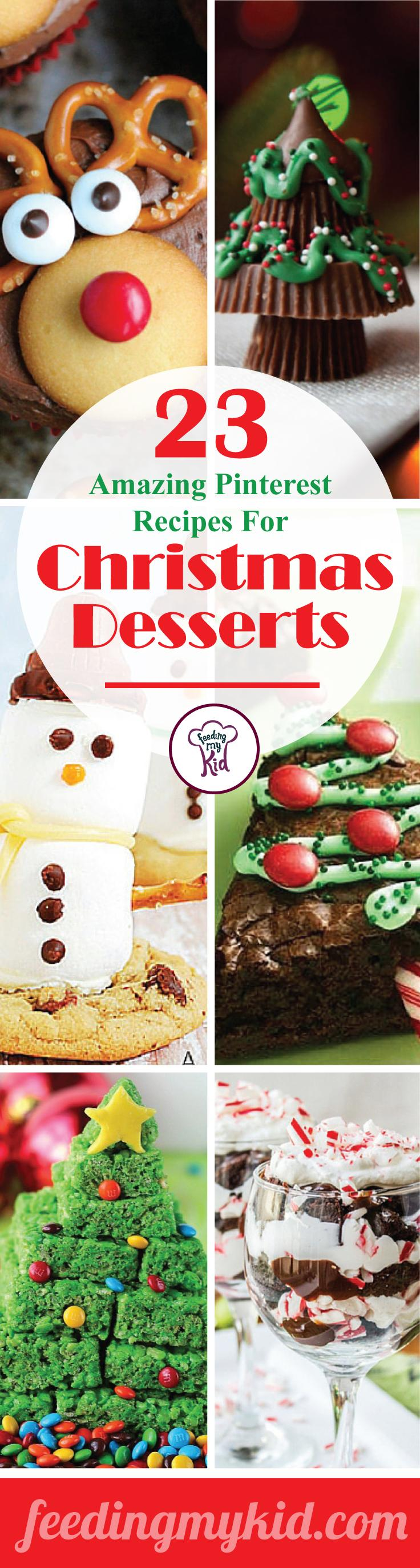 23 amazing pinterest recipes for christmas desserts 23 amazing pinterest recipes for christmas desserts there are 23 tasty treats to choose from forumfinder Choice Image
