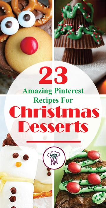 23 amazing pinterest recipes for christmas desserts there are 23 tasty treats to choose from