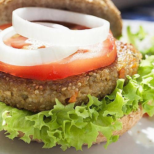 Quinoa Lentil Burger