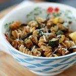Roasted Vegetable Whole Wheat Pasta Salad